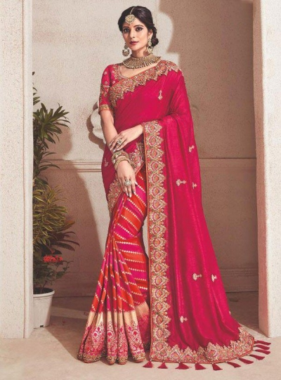 c7ea658a6e Pink-fancy-silk-Indian-wedding-saree-2303.jpg