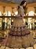Malaika arora khan wine silk Indian wedding Lehenga choli 13200