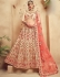 Cream color Traditional Indian heavy designer wedding lehenga choli 10003
