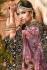 Dark purple velvet embroidered heavy designer Indian wedding lehenga choli 4707