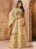 Indian wedding Beige silk wedding lehenga 7721