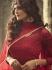 Maroon Indian hand work net wedding wear anarkali suit 56001