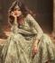 Mild green Indian hand work net wedding wear anarkali suit 56002