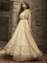 Off white Indian hand work net wedding wear anarkali suit 56004