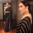 Bollywood Sabyasachi inspired Black karishma kapoor saree