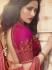 Magenta silk Indian wedding lehenga choli 902
