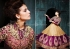 Dashing Purple Georgette Weddingwear Semi-Stitched Floor Length Suit