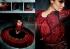 Black And Red Color Floor Length Anarkali Salwar Kameez