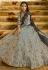 Malaika Arora Khan Grey Banarasi Indian wedding lehenga
