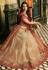 Malaika Arora Khan Beige and maroon Indian wedding lehenga