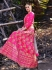 Magenta Pink silk Indian wedding lehenga