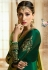Green barfi silk Indian Wedding anarkali