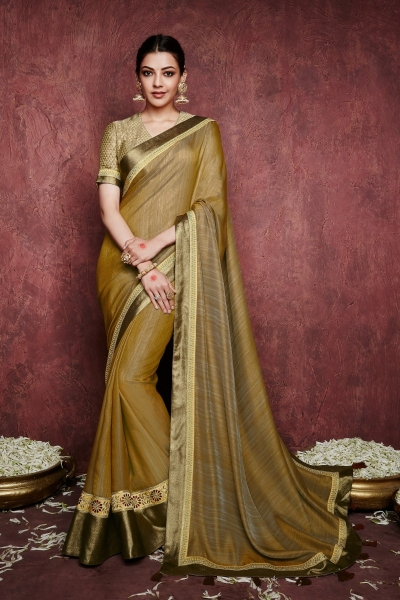 kajal aggarwal gold colour 1225KM