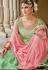 Green Dola Silk Sharara Style Pakistani Suit 38