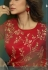 Jennifer Winget Steal Grey and Red Silky Georgette Long Anarkali Suit 5019
