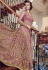 Light Pink Net Embroidered Lehenga Style Anarkali Suit 5804B