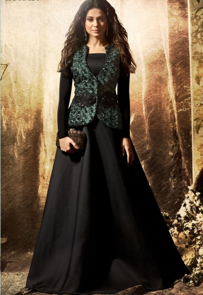 15907af5ab Jennifer-Winget-Black-Lycra-Long-Anarkali-Suit-with-Jacket-1136.jpg