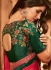 rani pink designer silk saree 2313