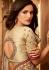 beige designer silk saree 2301