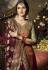multi color satin georgette digital printed sharara style pakistani suit 11045