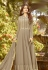 grey shade soft georgette long embroidered anarkali suit 20020
