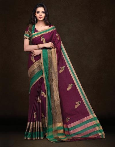 Mysha Malhar Magenta Designer Saree