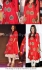 Alia bhatt red anarkali