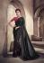 Black color fancy designer party wear saree