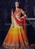 Shraddha Kapoor shaded orange and red anarkali