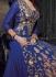 Shraddha Kapoor Blue trail cut salwar