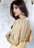 Shilpa shetty beige colour designer outfit