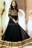 Celina Jaitley Black designer wedding anarkali suit