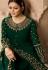 drashti dhami green georgette embroidered floor length anarkali suit 3803